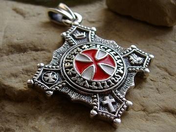 Крест тамплиеров амулет черри амулет фото цены