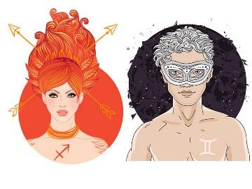 Совместимость знаков зодиака стрелец мужчина и близнецы женщина