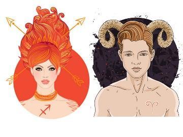 Знак зодиака стрелец мужчина и женщина овен
