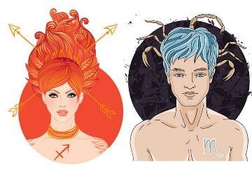 Совместимость Скорпион мужчина и Стрелец женщина в любви и браке
