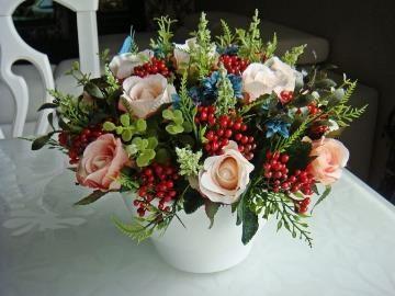 Искусственные цветы в доме по фен шуй, весенние букетные цветы