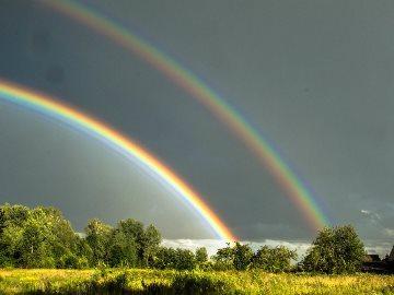 двойная радуга примета