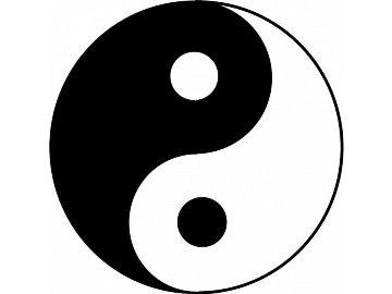 Инь - Янь - китайский символ, значение, описание, изображение - Simvolik