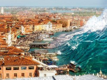 приснилось цунами