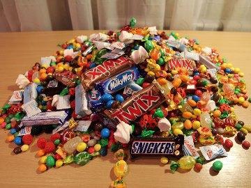 приснились конфеты