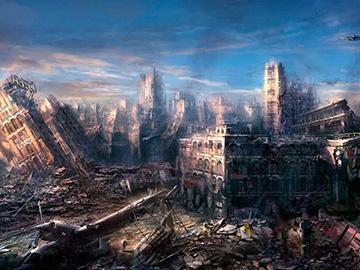 апокалипсис с разрушениями