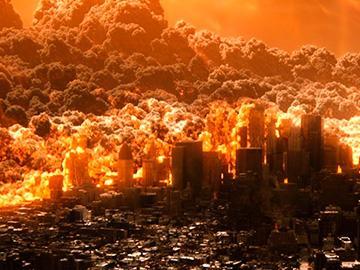 конец света со взрывами