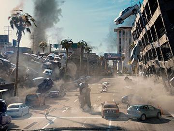 конец света с землетрясением