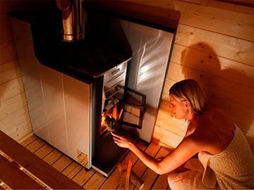 топить баню дровами