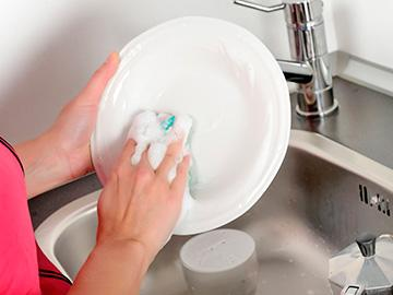 мытье тарелок