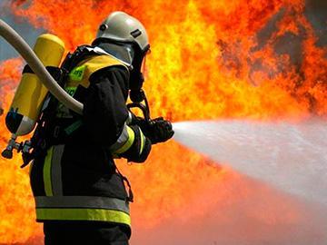 тушение пожар