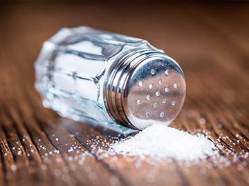 соль рассыпанная