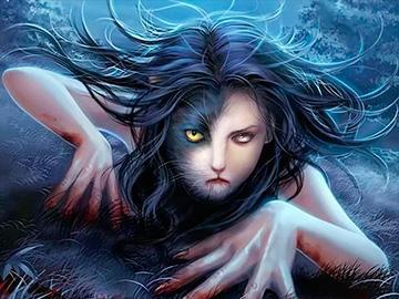 ведьма в человеческом обличии