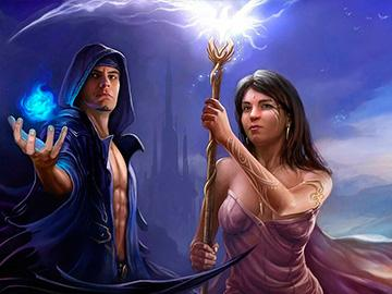 ведьма и колдун